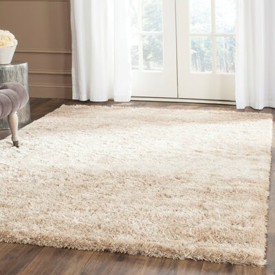 Maimouna Light Brown Area Rug Rug Size: Rectangle 67 x 96