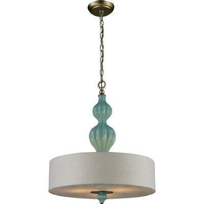 Dormer 3-Light Drum Pendant