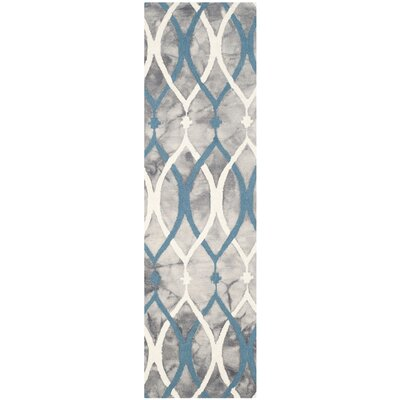 Clements Hand-Tufted Area Rug Rug Size: Runner 23 x 8