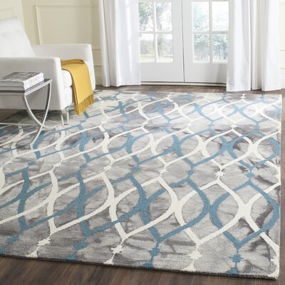 Clements Hand-Tufted Area Rug Rug Size: Rectangle 5 x 8