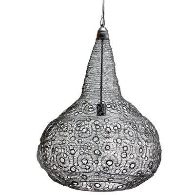 Cayeman 1-Light Globe Pendant