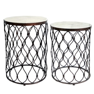 Mamta 2 Piece End Table Set