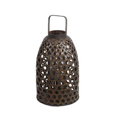 Bamboo Table Lantern Size: Large