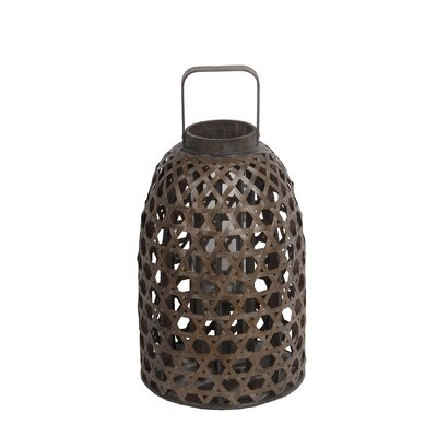 Bamboo Table Lantern Size: Small