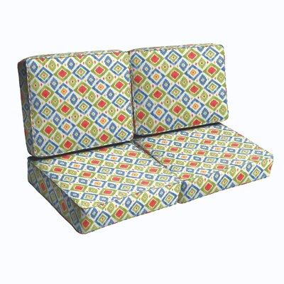 Loveseat Cushion Fabric: Multi
