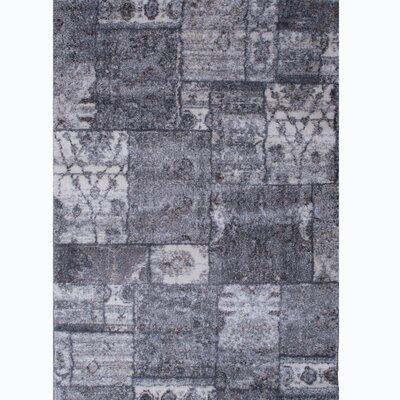 Miera Gray Shag Area Rug Rug Size: 8 x 10