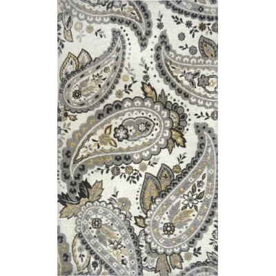 Misael Ivory Area Rug Rug Size: 21 x 37