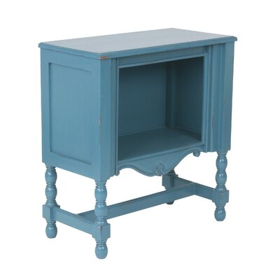 Minaya End Table Finish: Distressed Blue