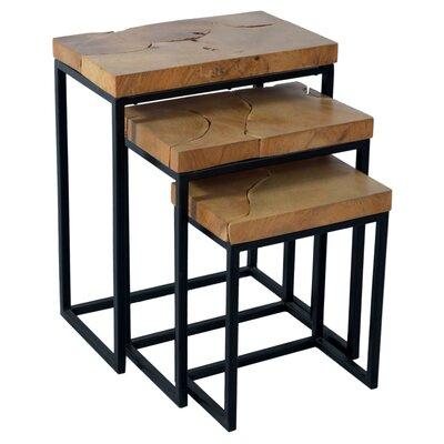 Corette 3 Piece End Table Set