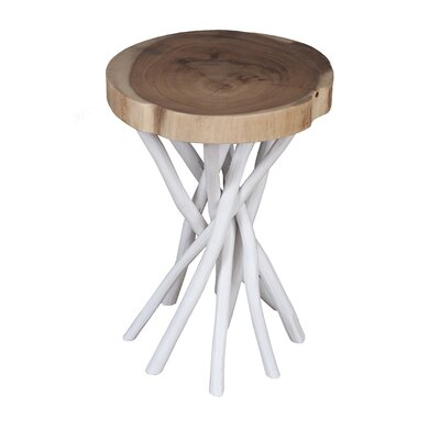 Cordova End Table Finish: White