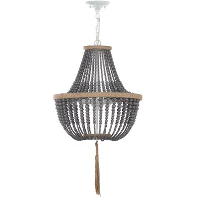 Lyon 3-Light Geometric Pendant Finish: Gray