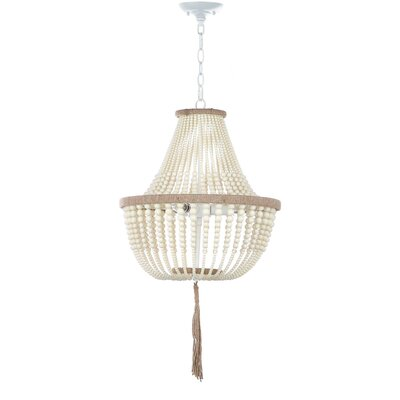 Najera 3-Light Geometric Pendant Finish: Cream