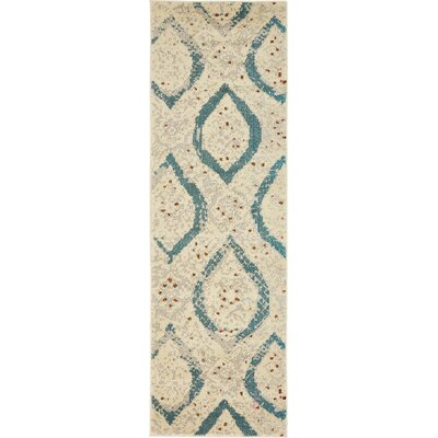 Charleena Cream Area Rug Rug Size: Rectangle 2 2 x 6 7