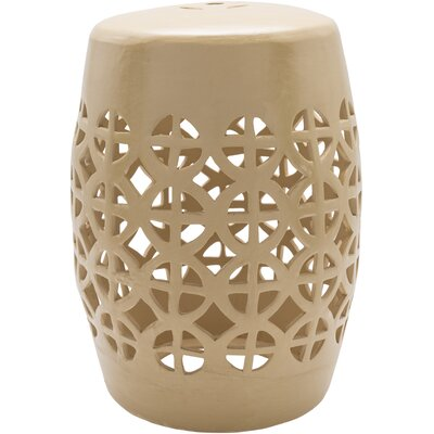 Suchitra Stool Color: Taupe