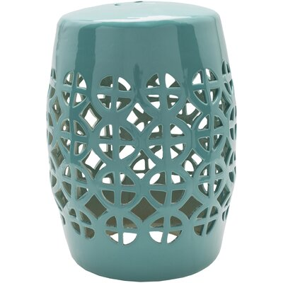 Suchitra Stool Color: Sky Blue