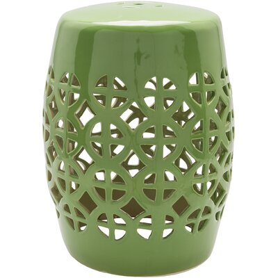 Suchitra Stool Color: Grass Green