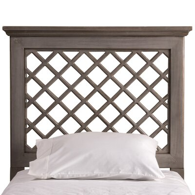 Dorian Wood Panel Headboard Size: Full / Queen, Upholstery: Distressed Gray