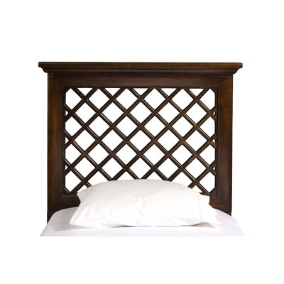 Naveena Panel Headboard Size: King, Upholstery: Light Walnut