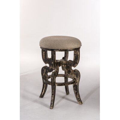 Nawel 30 Bar Stool Upholstery: Blackwash