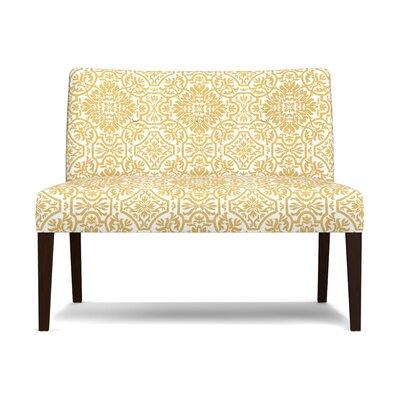 Marcelo Settee Upholstery: Gold