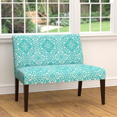 Marcelo Settee Upholstery: Turquoise