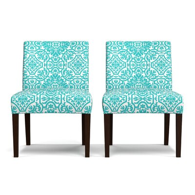 Marcelo Side Chair Upholstery: Turquoise