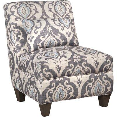 Bungalow Rose Mowbray Slate Large Slipper Chair