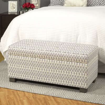 Brielle Upholstered Decorative Storage Ottoman