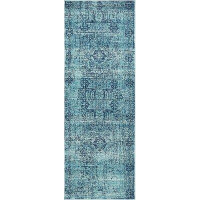 Nivedita Turquoise Area Rug Rug Size: Runner 2'2