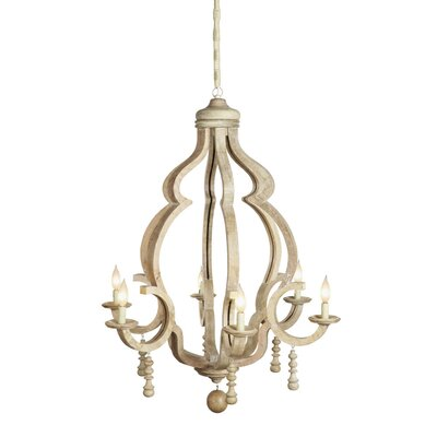 Graham 6-Light Candle-Style Chandelier