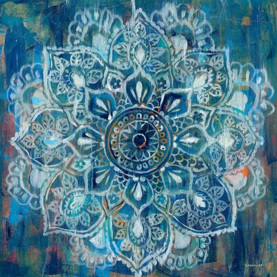 Mandala II Painting Print on Wrapped Canvas Size: 12