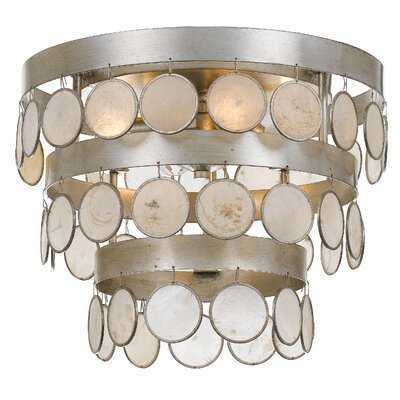 Dharamendra 4-Light Flush Mount