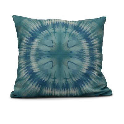 Armstrong Shibori Burst Throw Pillow Size: 26 H x 26 W, Color: Green