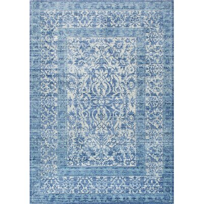 Sieben Siobhan Dark Blue Area Rug Rug Size: Rectangle 710 x 1010
