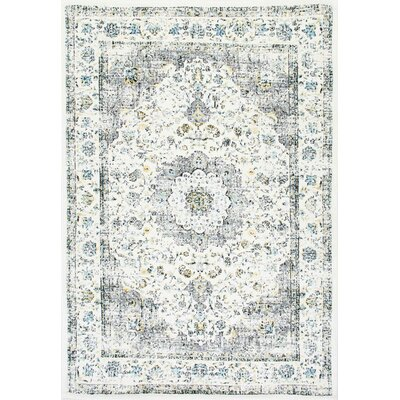 Chatelaine Verona Ivory Area Rug Rug Size: Rectangle 4 x 6