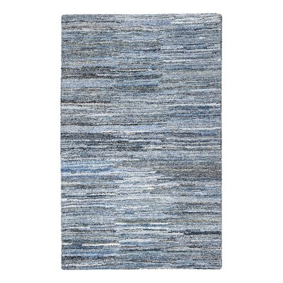 Reda Hand-Tufted Blue Area Rug Rug Size: Rectangle 8 x 10