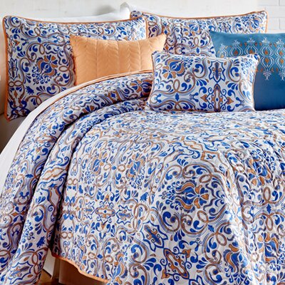 Hebert 6 Piece Quilt Set Size: King