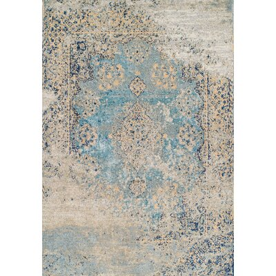 Curtis Robin's Egg Area Rug Rug Size: Rectangle 2' x 3'7