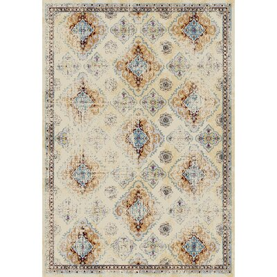 Curtiss Sand Area Rug Rug Size: Rectangle 53 x 76