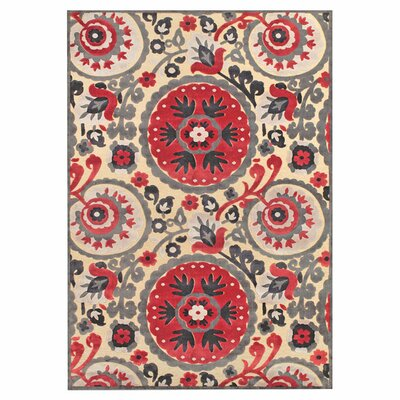 Rashid Area Rug Rug Size: Rectangle 76 x 106