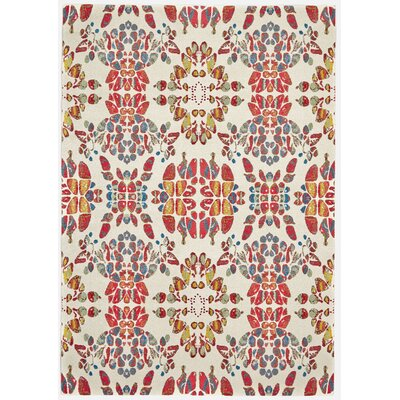 Yenene Melon Area Rug Rug Size: Rectangle 5 x 8