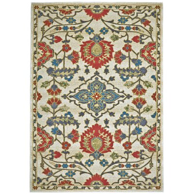 Yenene Red Area Rug Rug Size: 8 x 11