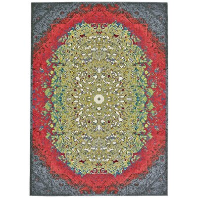 Yenene Flamingo Area Rug Rug Size: Rectangle 5 x 8