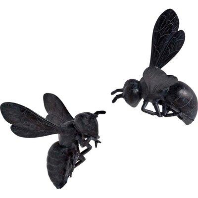 Cast resin Hornets Figurine Color: Black