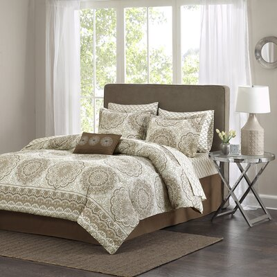 Jewel Complete Bed Set Size: Queen