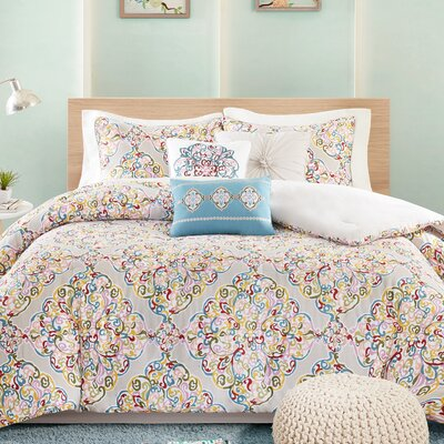Briar 7 Piece Comforter Set Size: King