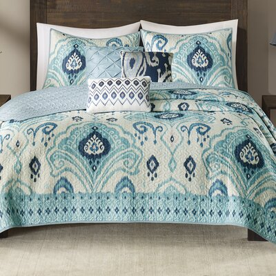 Kassia 6 Piece Coverlet Set