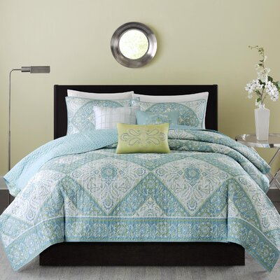 Alass 6 Piece Coverlet Set Size: Full / Queen