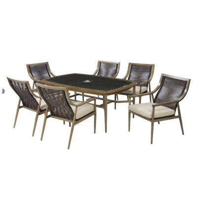 Dougherty 7 Piece Dining Table Set