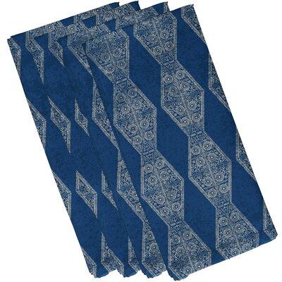 Soluri Pyramid Stripe Geometric Print Napkin